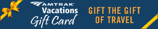 Amtrak Vacations Gift Card. Give the Gift of Travel